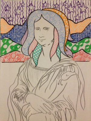 Mona Lisa Free Printable